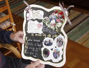 90-årsdagen firade Rune Moen redan i somras med släkten upp i hemtrakten kring Idre.