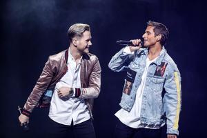 Samir & Viktor uppträder på Ludvikafesten i sommar. Foto Christine Olsson / TT kod 10430