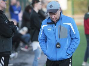 Ingen höjdare för tränare Peter Svensk när Rengsjös segersvit bröts hemma på IP.