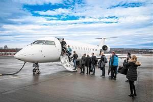 Ju fler som tar ställning genom att avstå flyget desto större chans att vi ändrar vårt beteende, menar Maria Soxbo. Bild: Viktor Sjödin