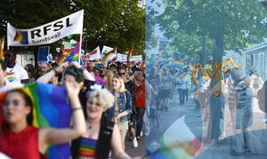 Det finns, enligt Nya Moderternas ordförande, Viktoria Jansson, mängder av anledningar och historiska skäl till varför Pride är viktigt för Moderaterna. Bilder: Jenny Toresson och Ingmar Reslegård