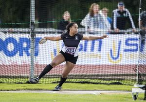 Vanessa Kamga – nu ska hon tävla i U23-EM hemma i Gävle. FOTO: TT