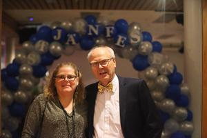 Åsa Landin och Christofer Martinson arrangerade Stjärnfesten för femte året.