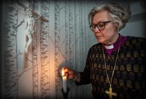 Biskopen Eva Nordung Byström.