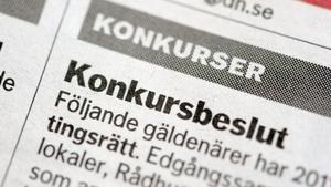I Dalarna gick 12 företag i konkurs under mars månad, en siffra som kan jämföras med 20 konkurser under samma period i fjol. Minskningen på 40 procent är en av de bästa i landet.