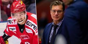 Johan Forsberg hyser stor respekt för Björn Hellkvist. Foto: Robbin Norgren/Bildbyrån.