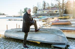 Vinterbilden 2017. Årets modell: Ulf Eneroth. Medeltemperatur: -0,6. Nederbörd: 78,9. Foto: Lennart Ljung.