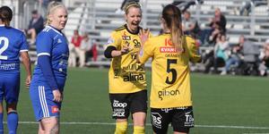 EmmaLi Nordengrim fick 30 minuter mot sitt gamla lag – och var inblandad i 3–0-målet som satte spiken i kistan.