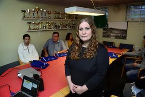Häromkvällen var Madelene Brandt hos Sunds IF för en utbildning av ledare om neuropsykiatriska diagnoser.
