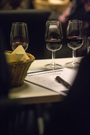 Dalecarlias sommelier Petra Schwarzenberger höll i en uppskattad vinprovning.