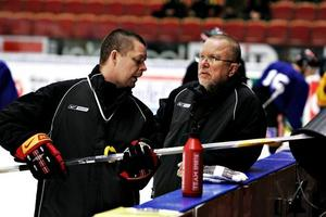 Czarnecki har skapat ett lag som tagit ett stort kliv på rankingen. Här med Leif Boork under fjolårets kvalspel.