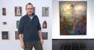 Lars Westerman var tidigare intendent för konsthallen i Kulturcentrum, men har har alltid sett sig som först och främst konstnär.