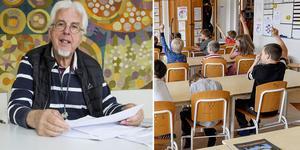 Montage. Jan-Eric Berger (C) är ordförande i barn- och utbildningsnämnden i Söderhamn.