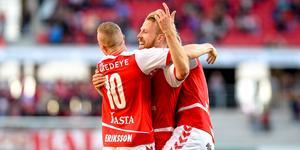 Henri Anier blev en av två målskyttar när Kalmar vann med 2–0. Bild: TT.