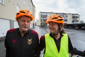 Kurt Folkesson och Lina Hallebratt  ska cykla tandemcykel från Östersund till Stockholm för att öka medvetenheten om landsbygden.
