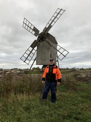 På Öland där Göran Blom bor finns många kompletta kvarnar. I de fall ägaren inte har möjlighet att bekosta dess renovering, sker det med hjälp av bidrag från allmänheten eller länsstyrelsen. Foto: Privat