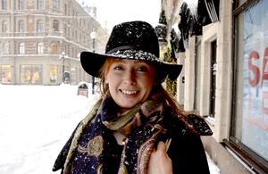 Emma Balsjö, 32, frisör, Timrå: