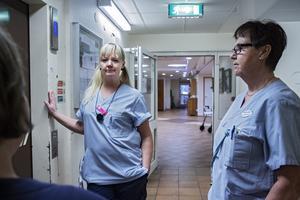 Sara Persson och Marianne Harryson känner oro och frustration.