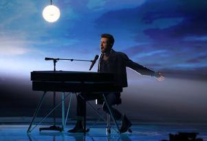 Duncan Laurence  från Nederländerna  vann Eurovision Song Contest. AP Foto/Sebastian Scheiner)