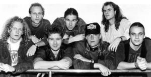 Tuvan band 1991. Medlemmar var Mats Norberg, Thord Jonsson, Magnus
