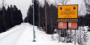 Tjärnmyrans skjutfält  ligger bara några kilometer från Sollefteås stadskärna.
