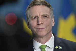 """""""Vi ska bygga världens första fossilfria välfärdsland"""" sa miljö- och klimatminister Per Bolund (MP). Arkivbild."""