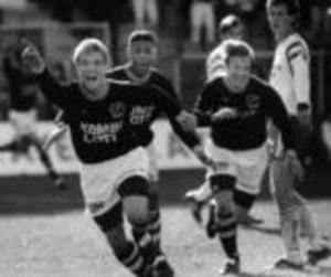 Bosse Andersson lät tala om sig när han spelade i AIK under en period i början på 90-talet.Foto: AIK