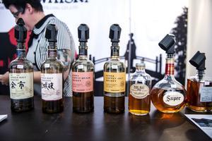 Japanska Nikka Whisky blev en favorit hos många besökare.