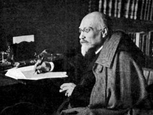Den spanske dramatikern José Echegaray tilldelades Nobelpriset i litteratur 1904. Han är en av få renodlade dramatiker som har fått priset. Arkivbild.