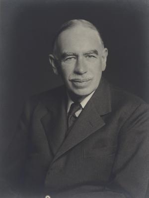 Nationalekonomen John Maynard Keynes har formulerat principen om en armlängdsavstånd som gäller inom den svenska kulturpolitiken. Foto: Walter Stoneman/National Portrait Gallery