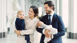 Prins Carl Philip, Prinsessan Sofia, Prins Alexander och Prins Gabriel i september 2017.Foto:  Erika Gerdemark/ Kungahuset.se