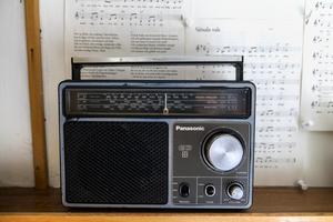 Ingen sommarsemester utan radio.Foto: Stefan Jerrevång / TT