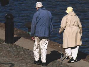 Många i åldern 50-79 ser bostaden som en pensionsförsäkring.Foto: Hasse Holmberg/TT