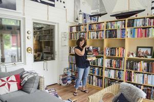 För Agneta Norrgård är läsandet en livsstil.