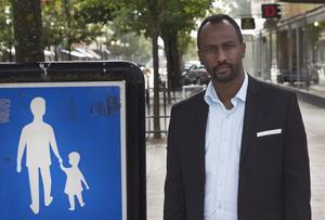 Hamse Omar ser ut att få ett mandat för Centerpartiet i regionvalet, där han var fyra på valsedeln.