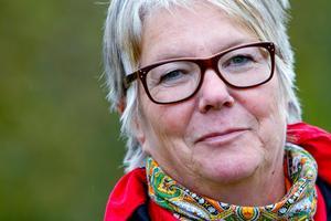 Caisa Abrahamsson, Sorsele, tar strid för sin plats som ordförande för Inlandsbanan AB.Foto: Sven Björkland, VK