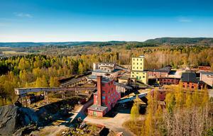 Stripa gruva från ovan 2014. Arkivbild. Rolf Karlsson/Bildmakarna