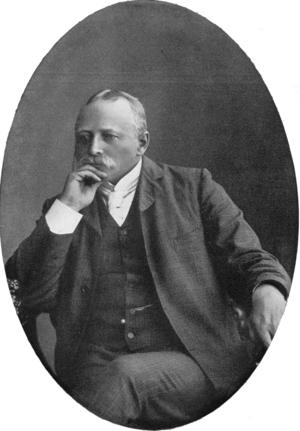Den svenske filosofen Hans Larsson influerade Johan Asplunds syn på samhällsstudiet. Bilden är tagen 1908 av okänd fotograf.