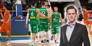 Södertälje spelar – som lag – basket på högsta nivå under inledningen av finalserien. Det ger guldläge, skriver Jacob Sjölin.