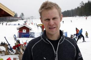 Peter Augustsson, Järvsö Syd, är nöjd med träffen med tänkbara investerare.