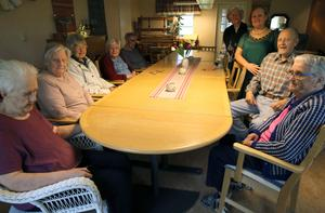 Raisa sjöng mycket vackert, tyckte de äldre på Stoltgården.