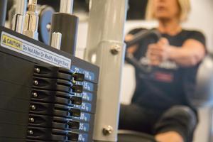 Det blir oftast två till tre gånger i veckan på gymmet för Ann-Sofie och Hans.