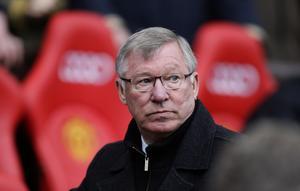Manchester Uniteds legendariske manager Sir Alex Ferguson var inte glad  när Jörgen Wiklander dök upp på träningen för att hjälpa David Beckham att få en smärtfri fot. Bild: TT