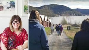 Kramfors kommunalråd Malin Svanholm träffar i en intervjuserie flera kommunbor som på något sätt agerat under coronakrisen. I det senaste, tillika det andra avsnittet, återfinns hon in Nordingrå för att träffa prästen Lars Parkman och ett glatt promenadgäng.