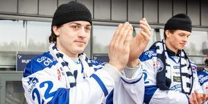Erik Aterius lämnar Leksand för spel i Västervik. Bild: Daniel Eriksson/Bildbyrån