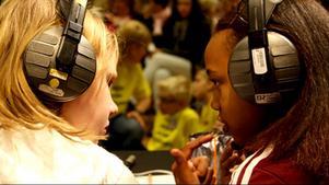 Dags för kvartsfinalerna i Vi i femman. Foto: Sveriges Radio