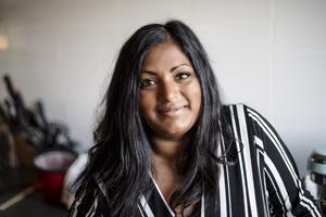 Maya Westin från Kroksta har tagit sig tillbaka in i TV4s tävlingsprogram – Hela Sverige bakar.