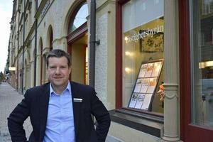 Kent Selin, kontorschef på Fastighetsbyrån i Sundsvall.