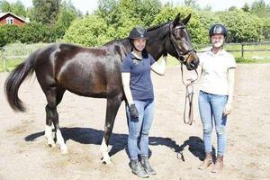 Clara Strandberg Zarotti och Ella Fasting deltog i VM för unga uppfödare.