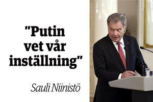 President Sauli Niinistö omvaldes 2018 för en ny sexårsperiod.